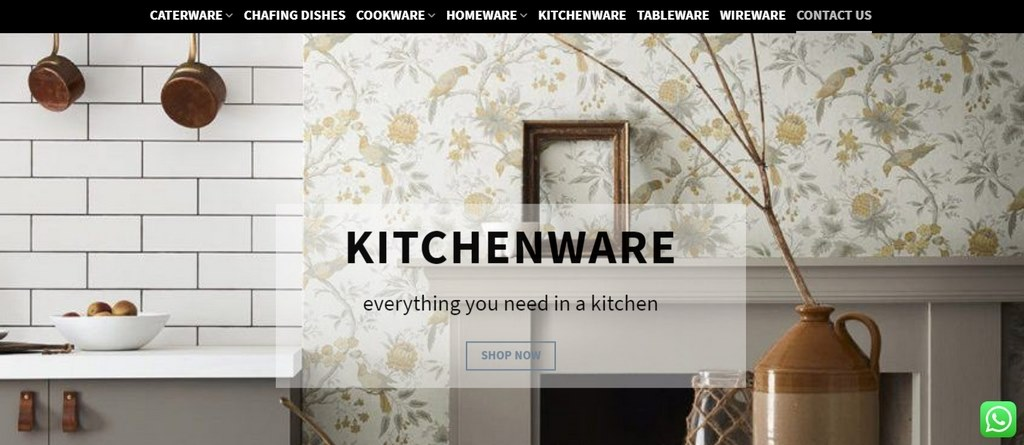 global houseware website by webtastix web designs